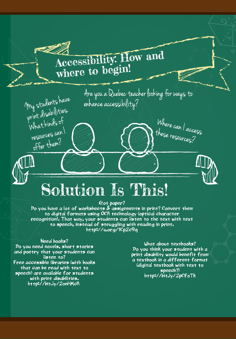 Inforgraphic accessibility